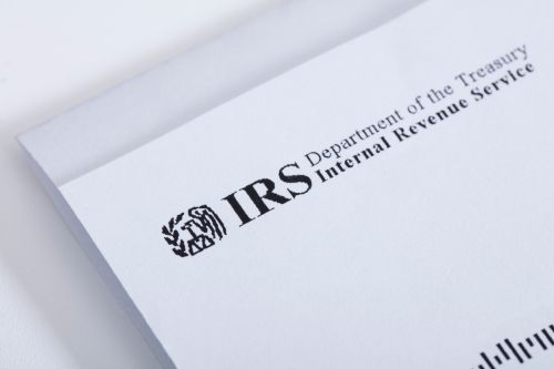 A letter from the IRS.