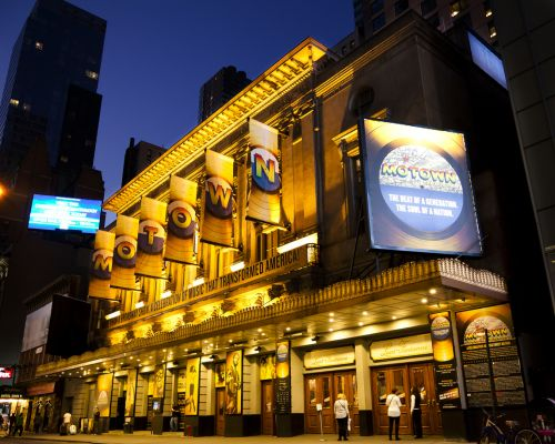 New York, NY, USA - Motown: Broadway musical