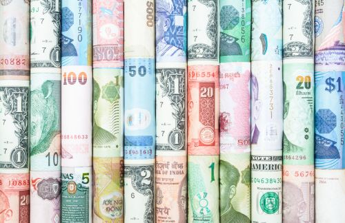 Different forms of currency