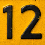 IRS Dirty Dozen: Number 12 on dirty license plate