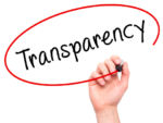 Taxpayer Advocate Calls for IRS Transparency - Hand writing Transparency