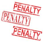 Red Penalty Stamps - FBAR Penalties